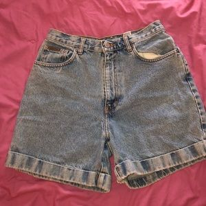 Calvin Klein Mom Jean Shorts